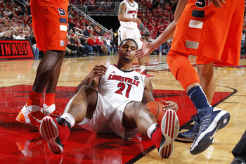 Louisville forward Chane Behanan against Syracuse.