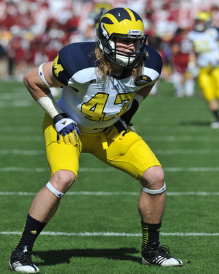 Michigan linebacker Jake Ryan is always around the football, and finally he will get some help up front.