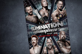 This Sunday is the fourth annual Elimination Chamber event. Photo by: WWE