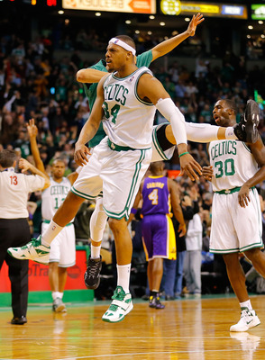 Pierce put up another huge game in the blowout vs. L.A.