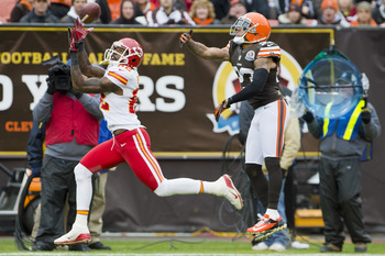 Dwayne Bowe won't be back in Kansas City.