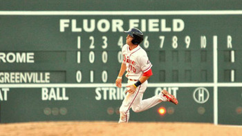 Blake Swihart could go from solid prospect to stud. Courtesy of Darrell Snow, Greenville Drive