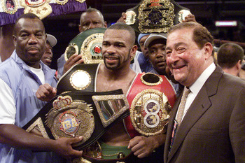 Remember the days when Roy Jones needed an entourage just to carry his belts to the ring?
