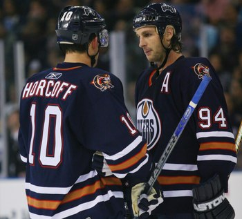 The Oilers need the old guard of Ryan Smyth and Shawn Horcoff to start chipping in offensively.