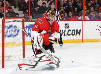 Craig Anderson continues to dominate between the pipes.