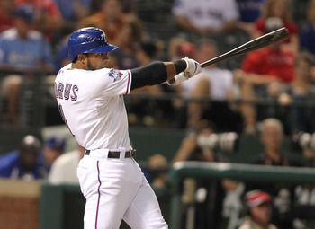 Elvis Andrus is slipping out of the top five for shortstops.