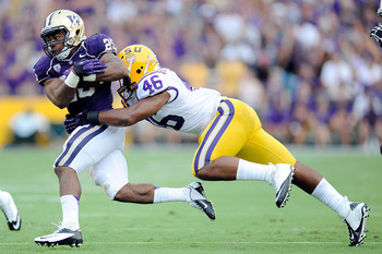 LSU's Kevin Minter could be a Bengal in 2013 if he shines at the combine.