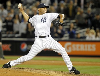 43-year-old closer Mariano Rivera is one of several veterans poised to lead the New York Yankees back to the postseason.
