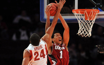 Josh Huestis is an excellent shot-blocker