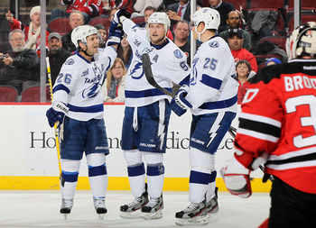 The Lightning convert 44 percent of their man-advantage opportunities at home.