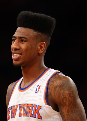 Shumpert is still adjusting to NBA ball after returning from injury.
