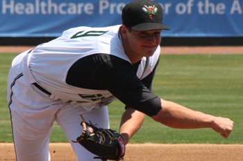 Kyle Crick is one of the few bright spots for the Giants after years of trades. Courtesy of Augusta Green Jackets, MiLB.com
