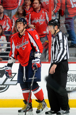 The Capitals have been sent to the sin bin frequently, which has opened up more scoring opportunities for opponents.