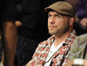 Randy Couture has had battles with the UFC over his contract, and is now working for Spike TV to promote Bellator.