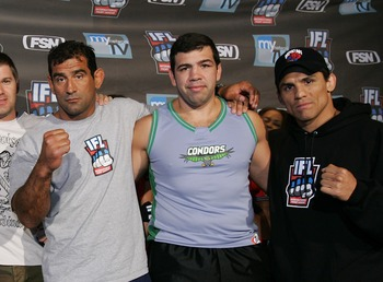 Frank Shamrock, right, has angered promoters throughout his MMA career, and Dana White was no different.