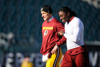 The presence of Robert Griffin III and Kirk Cousins means the Redskins are set at quarterback.