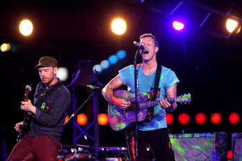 Coldplay has appeal both internationally and stateside.