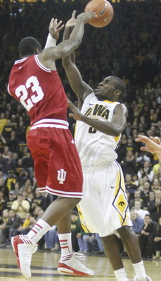 Iowa surprised the Hoosiers, making the game very close.