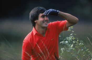 Seve Ballesteros never came up against a difficult shot that he didn't enjoy.