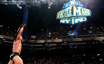 The Rock and the WWE won't change their plans so close to WrestleMania 29. Photo Courtesy of WWE.com