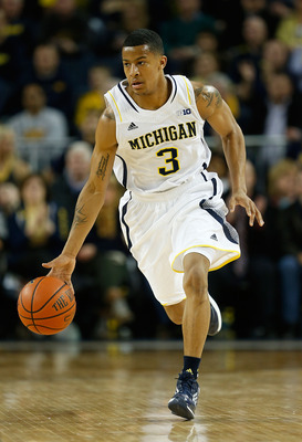 How would Trey Burke handle the size and length of Jalen Rose?