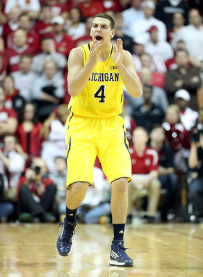 Mitch McGary is known for giving Michigan a boost of energy coming off the bench.
