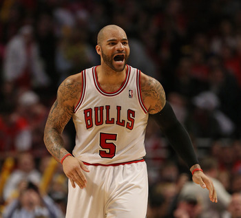 The Bulls are interested in moving Carlos Boozer for Andrea Bargnani if given the opportunity.