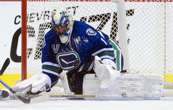 In six starts this season, Roberto Luongo is 4-0-2 with a 1.45 goals against average.