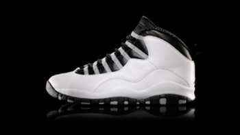 The comeback shoe, also known as the Air Jordan X.  Via Nike.com