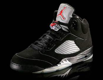 The Jordan V was inspired by the WWII Mustang fighter plane.  Via Nike.com