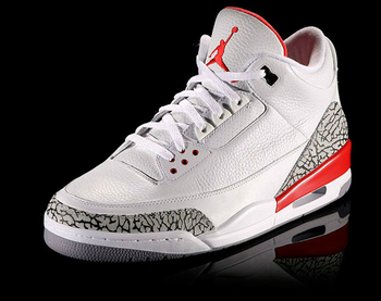 MJ rocked the Jordan III's when he won the 1988 Gatorade Slam Dunk Championship.  Via Nike.com