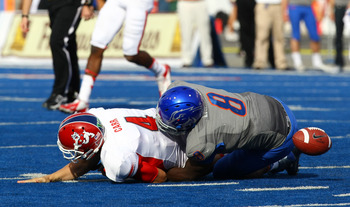 Demarcus Lawrence will be the leader of Boise State's defensive line in 2013.