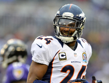 Champ Bailey has regressed but is owed a ton of money in 2013.