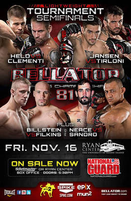 Bellator's tournament format sets it apart from many MMA promotions.