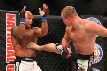 Alexander Shlemenko recently became the Bellator middleweight champion.