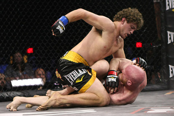 Ben Askren's Olympic wrestling gives him a major edge over most opponents. Photo c/o Sherdog.com.