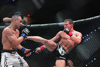 Michael Chandler is regarded by many as a top-five lightweight. Photo c/o Sherdog.com.