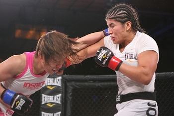The championship situation among Bellator's ladies is confusing. Photo c/o Sherdog.com