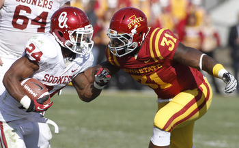 Iowa State finished the 2012 season ranked No. 77 vs. the run.