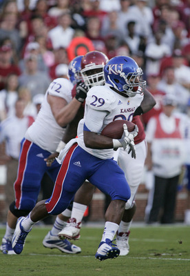 Kansas finished the 2012 season ranked No. 22 in rushing yards.