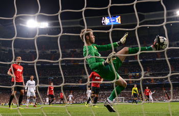 David de Gea was sensational against Madrid. Is that the turning point for him?