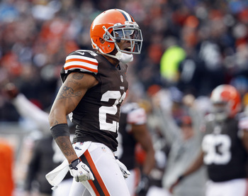 Who will join Joe Haden on the outside?