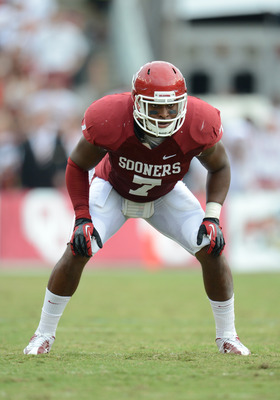 Corey Nelson is the face of the 2013 OU linebacking unit.