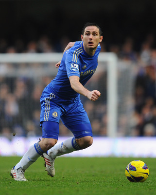 Chelsea fans often sing Lampard's name.
