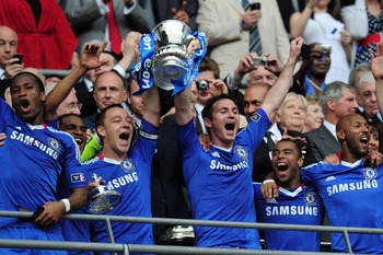 This is the moment Chelsea and John Terry clinched the Double in 2010.