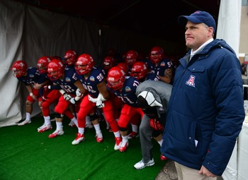 Rich Rodriguez leads a young UA squad