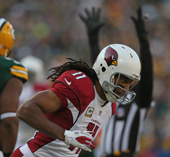 Larry Fitzgerald is one of the highest-paid wide receivers in the league.