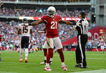 Patrick Peterson has a $5 million cap hit in 2013.