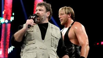 Zeb Coulter with Jack Swagger (Photo from WWE.com)