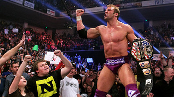 What must feel like a dream to Zack Ryder now. (Photo from WWE.com)